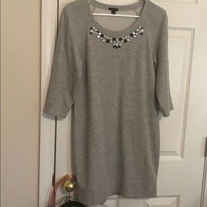 Ann Taylor Sweatshirt Dress SP